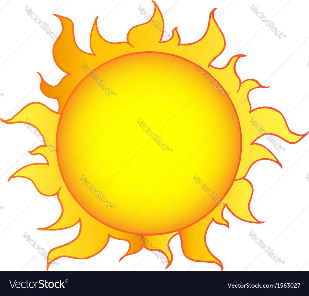 cartoon sun royalty free vector image vectorstock rh vectorstock com free vector cartoon people free vector cartoon images