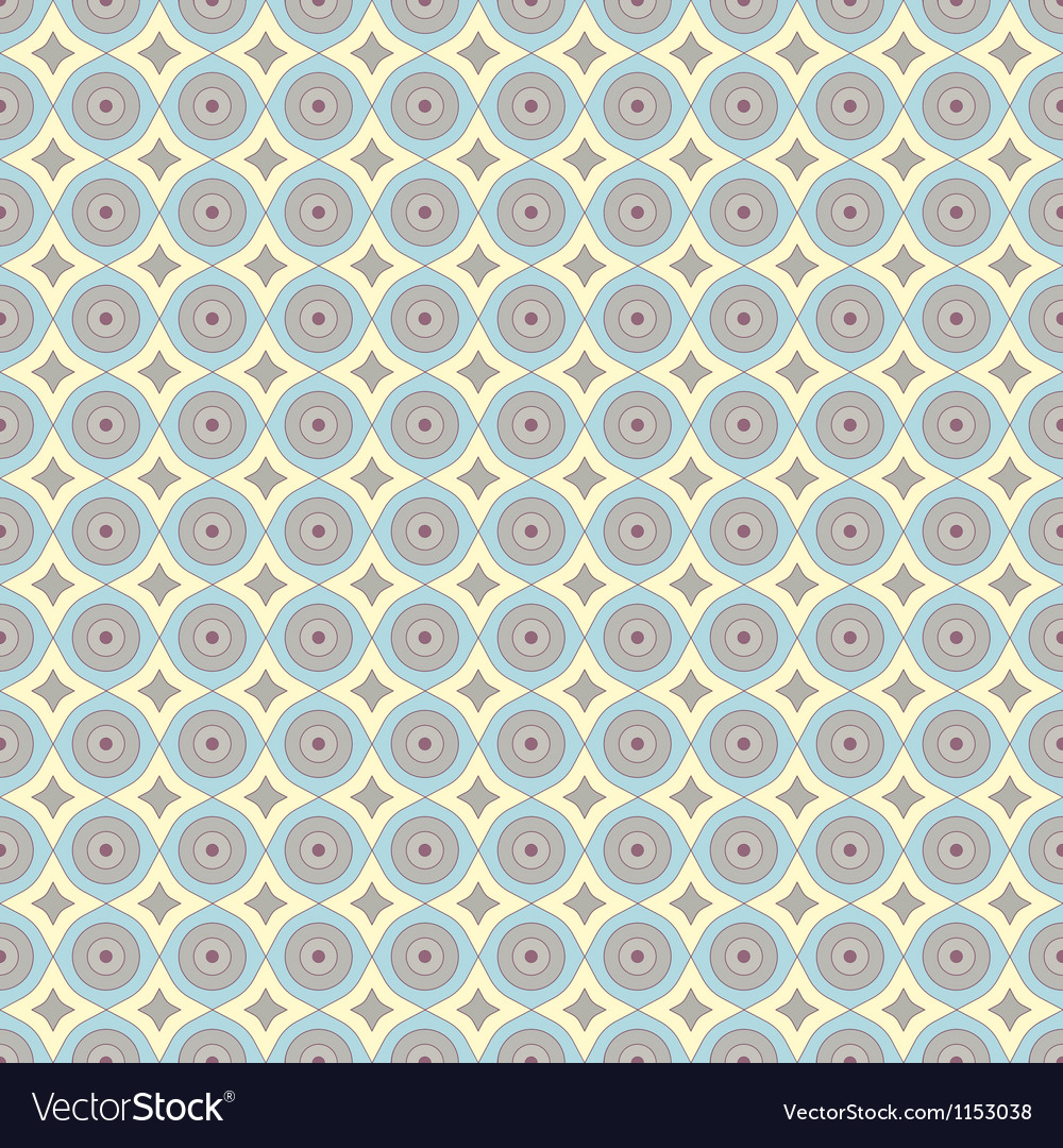 Abstract pattern with grid wavy structure vector image