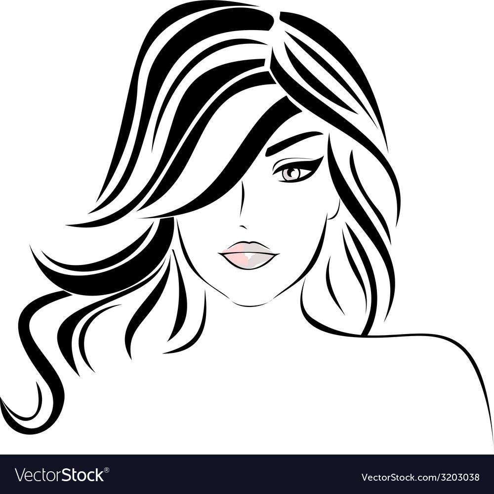 Girl Hair Vector Www Pixshark Com Images Galleries