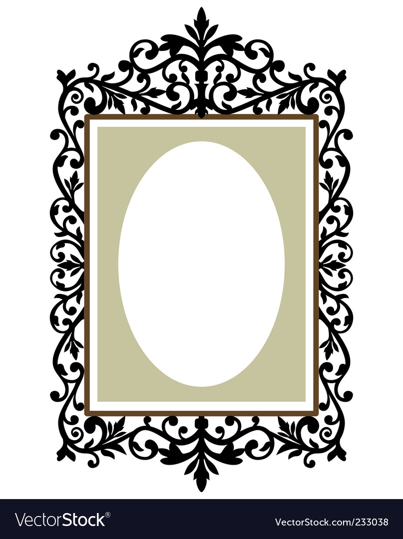 ornate frame royalty free vector image vectorstock rh vectorstock com free ornate vintage frame vector ornate frame vector art