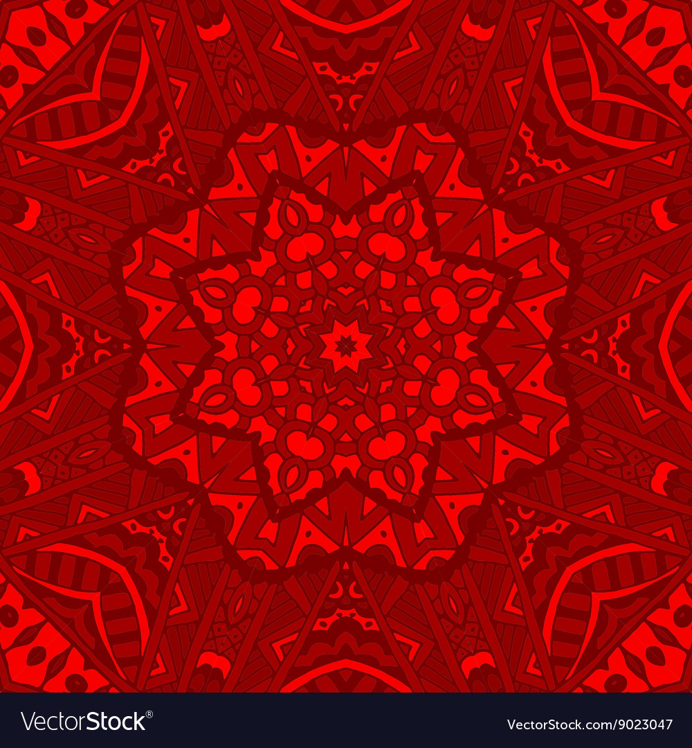Winter red christmas background for greeting card vector image