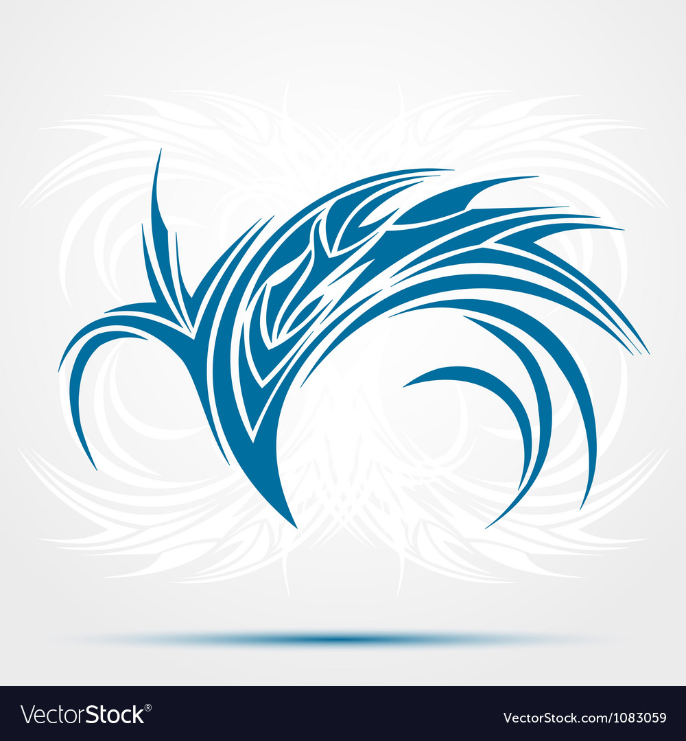 Trible vector image