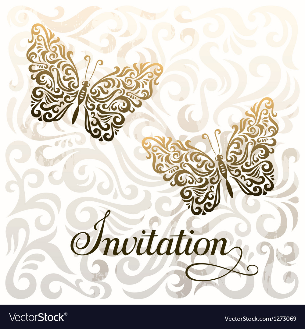 Invitation royalty free vector image vectorstock invitation vector image stopboris Image collections