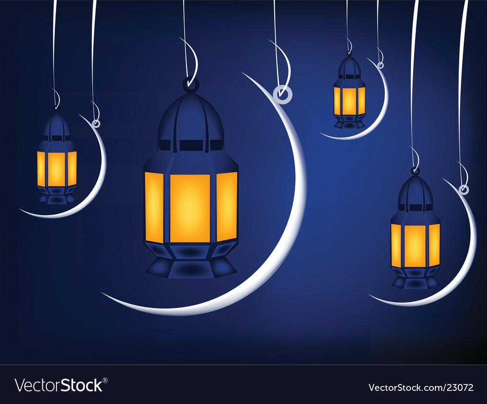 Islamic illustration vector image