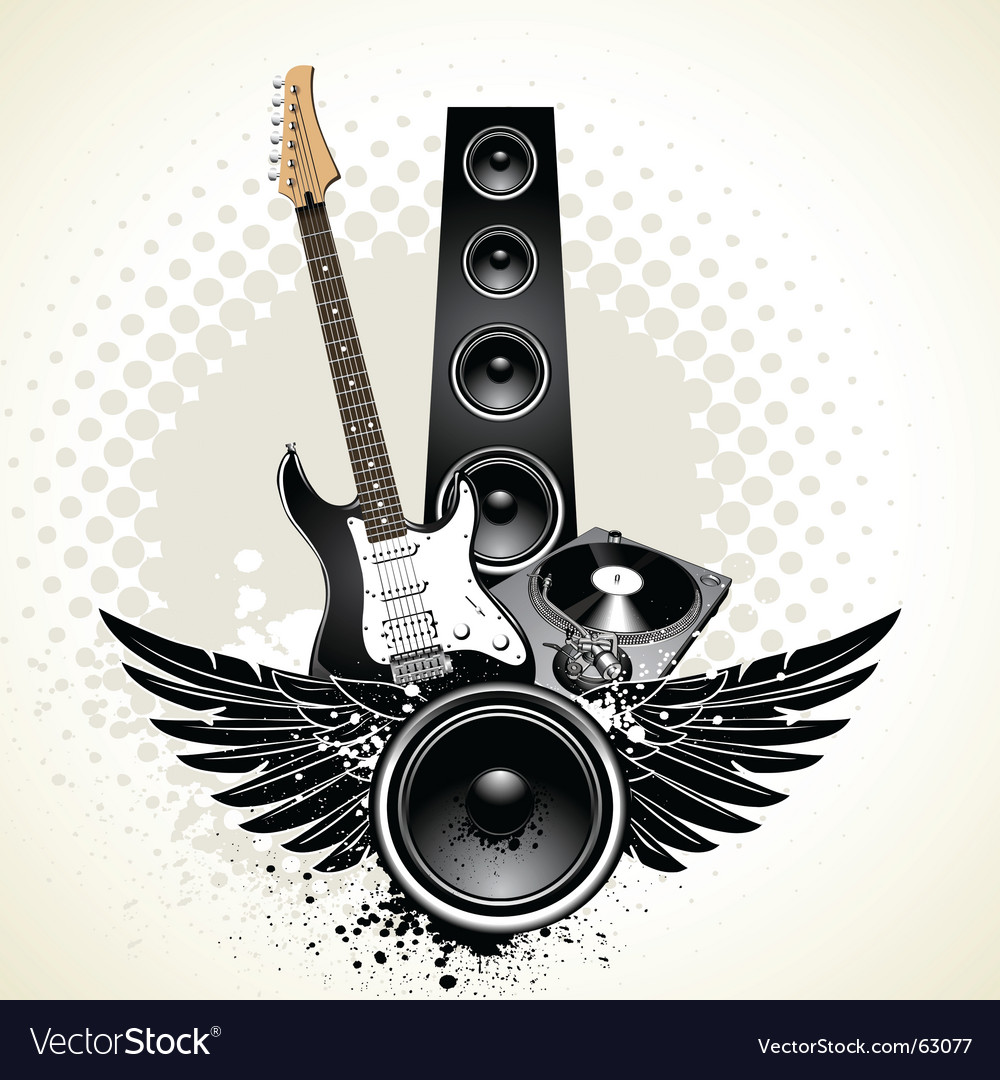 Instruments vector image