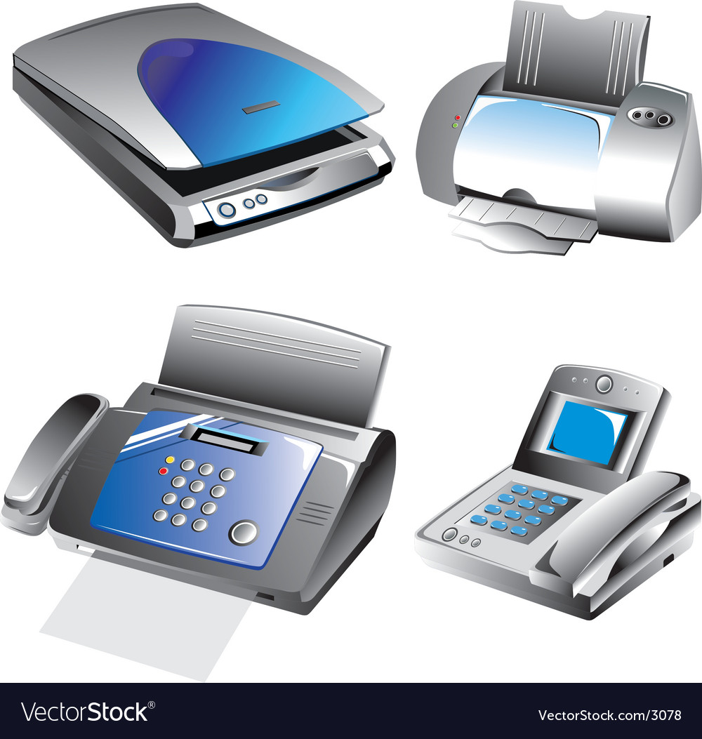 Object illustrations vector image