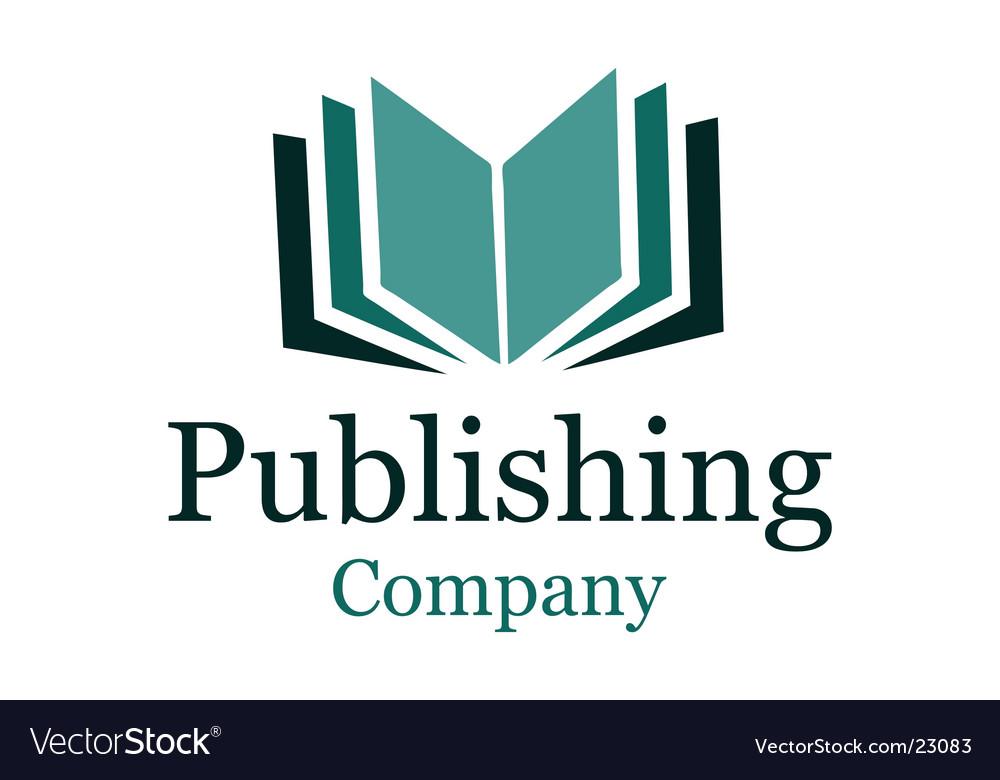 Publishing company logo Vector Image