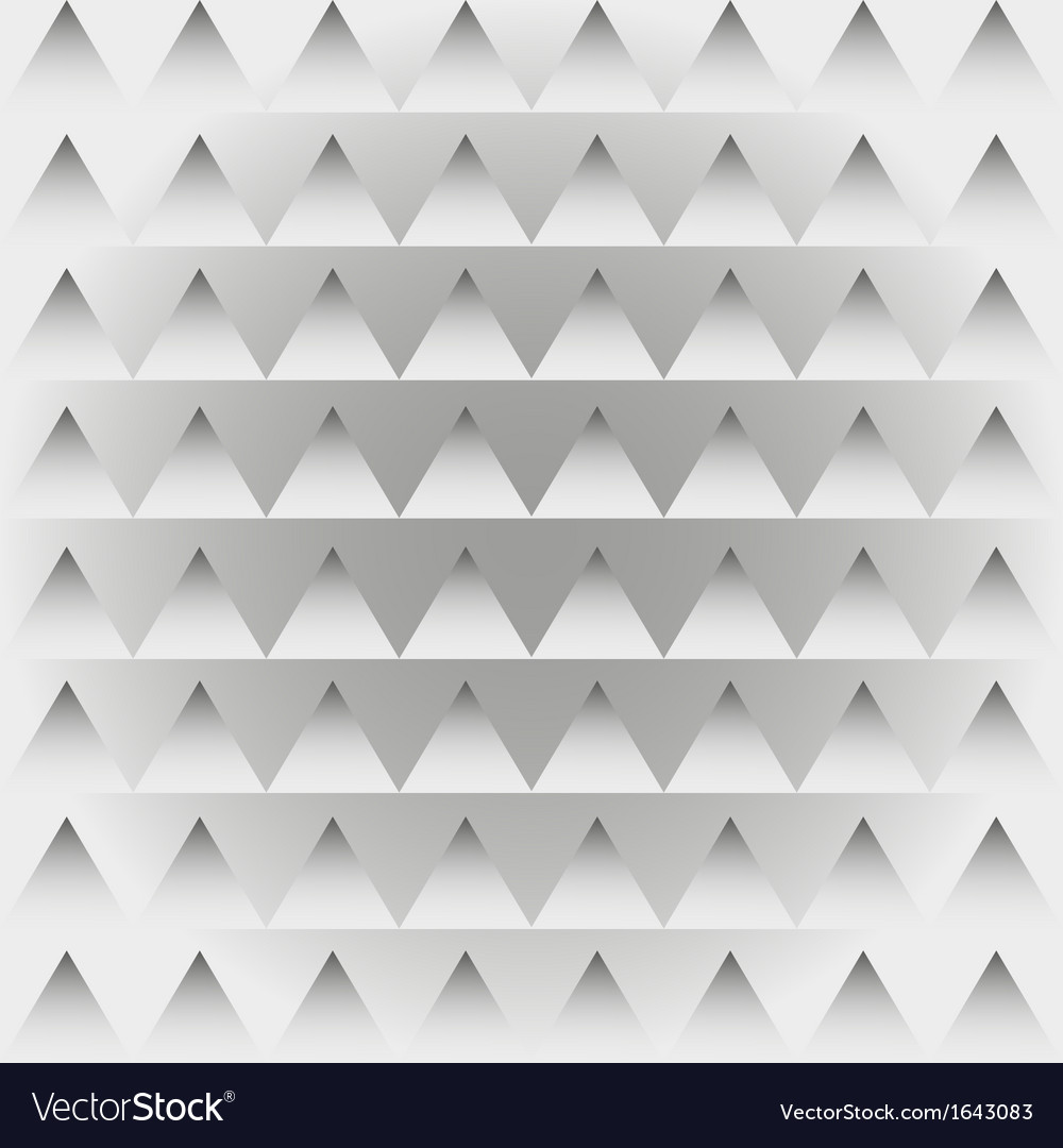 Abstract retro patternRepeat geometric triangle vector image