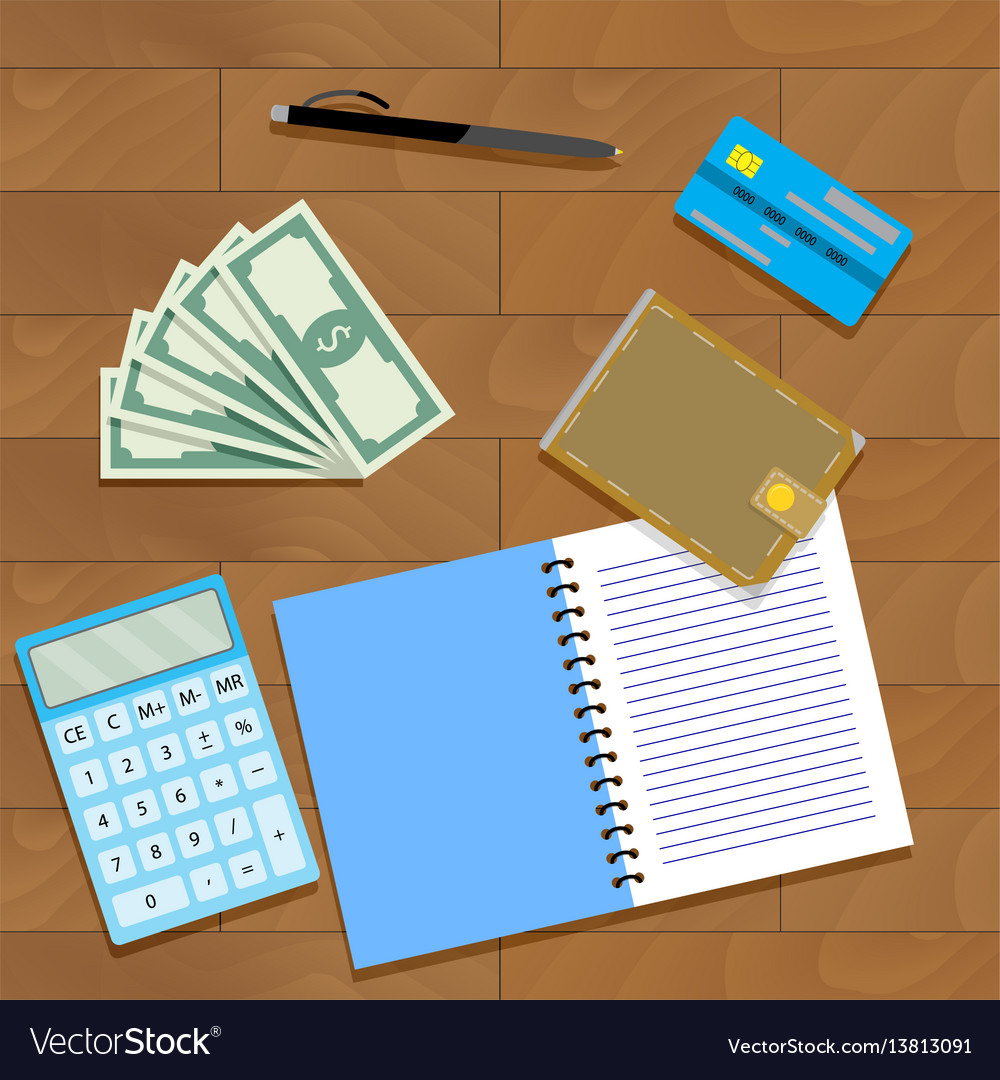 Finance plan concept vector image