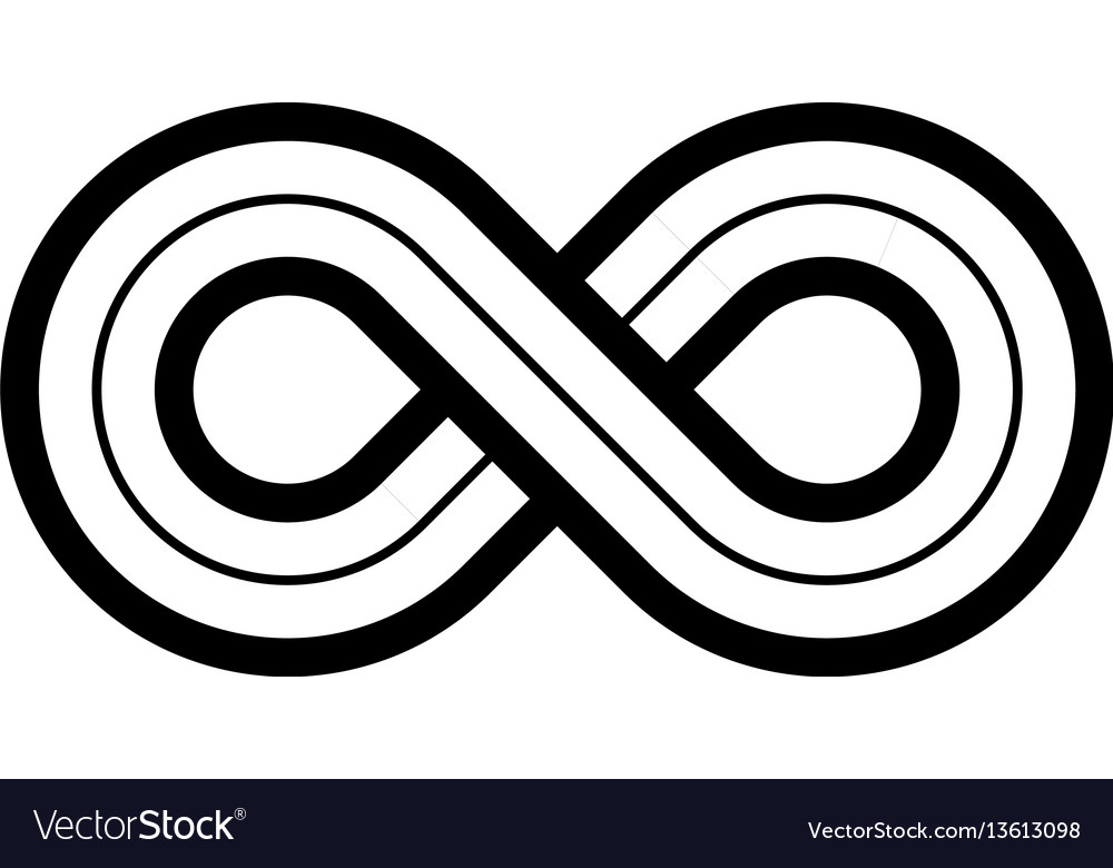 Infinity symbol icon representing the concept of vector image biocorpaavc Gallery