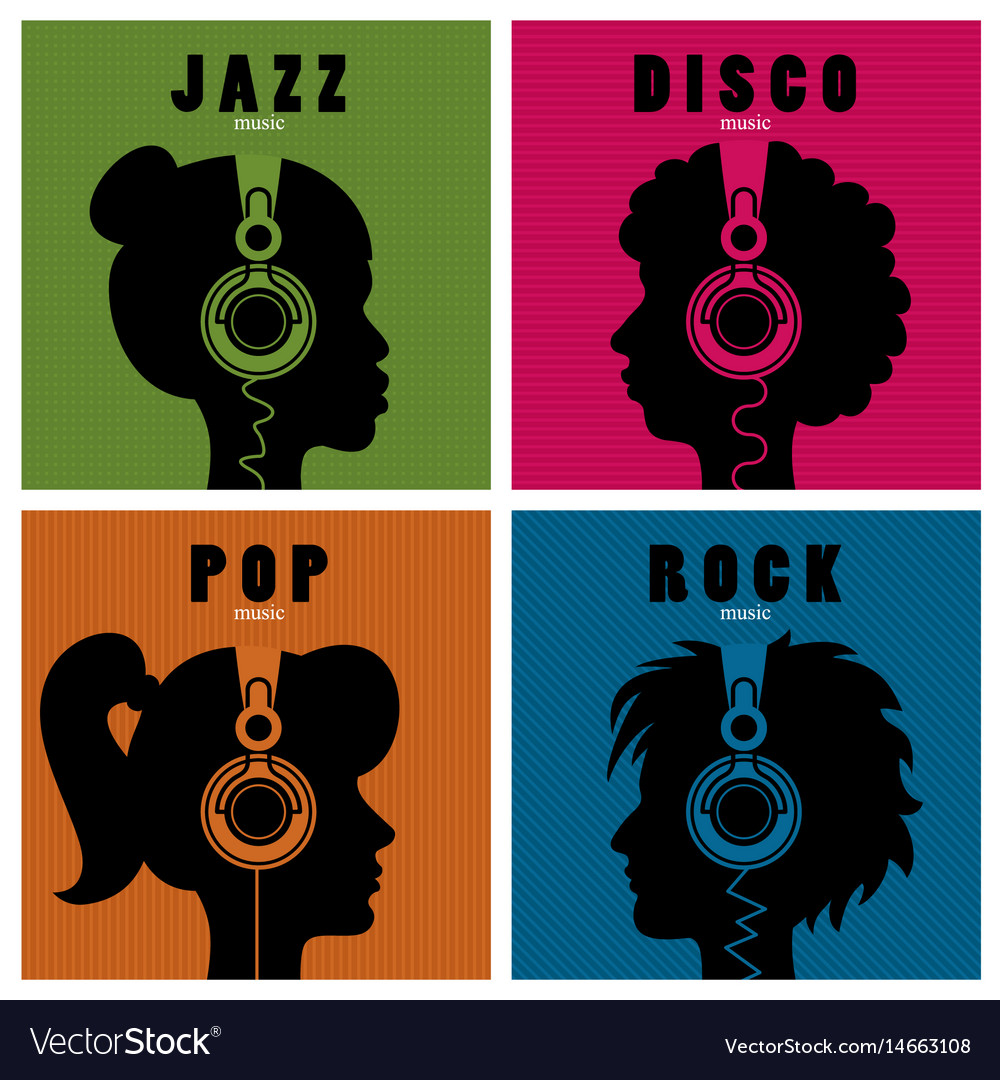 Music and variety vector image