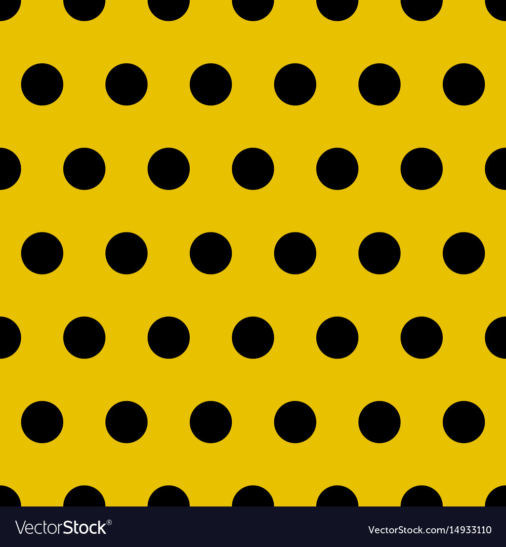 Abstract retro seamless pattern with circle vector image