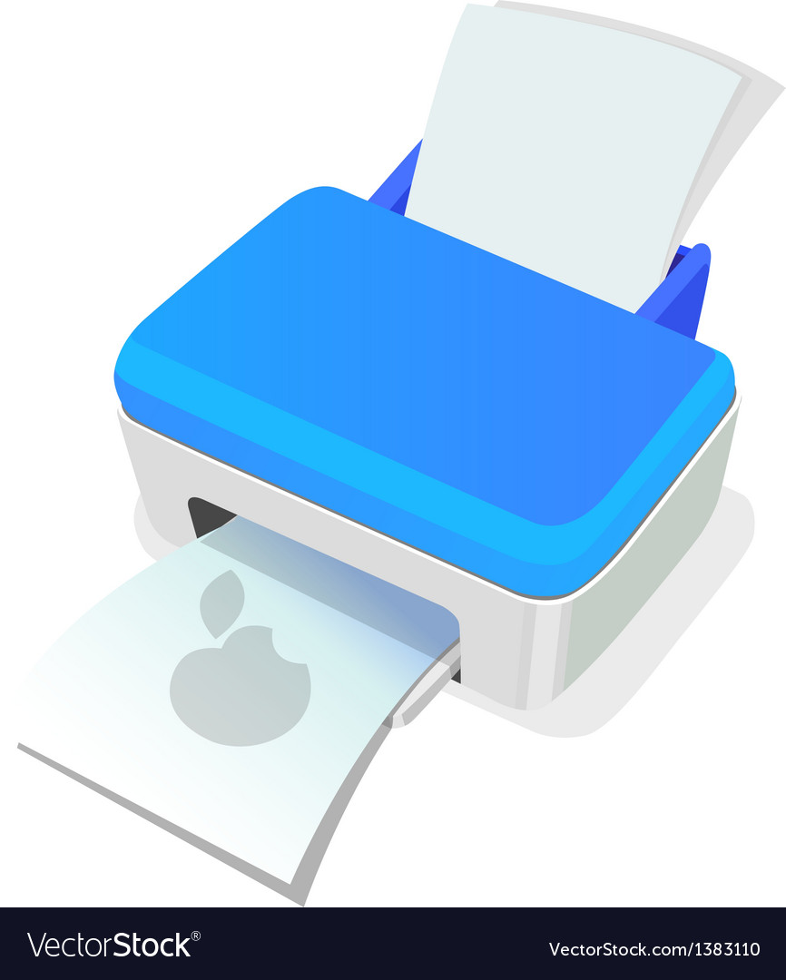 Icon printer vector image
