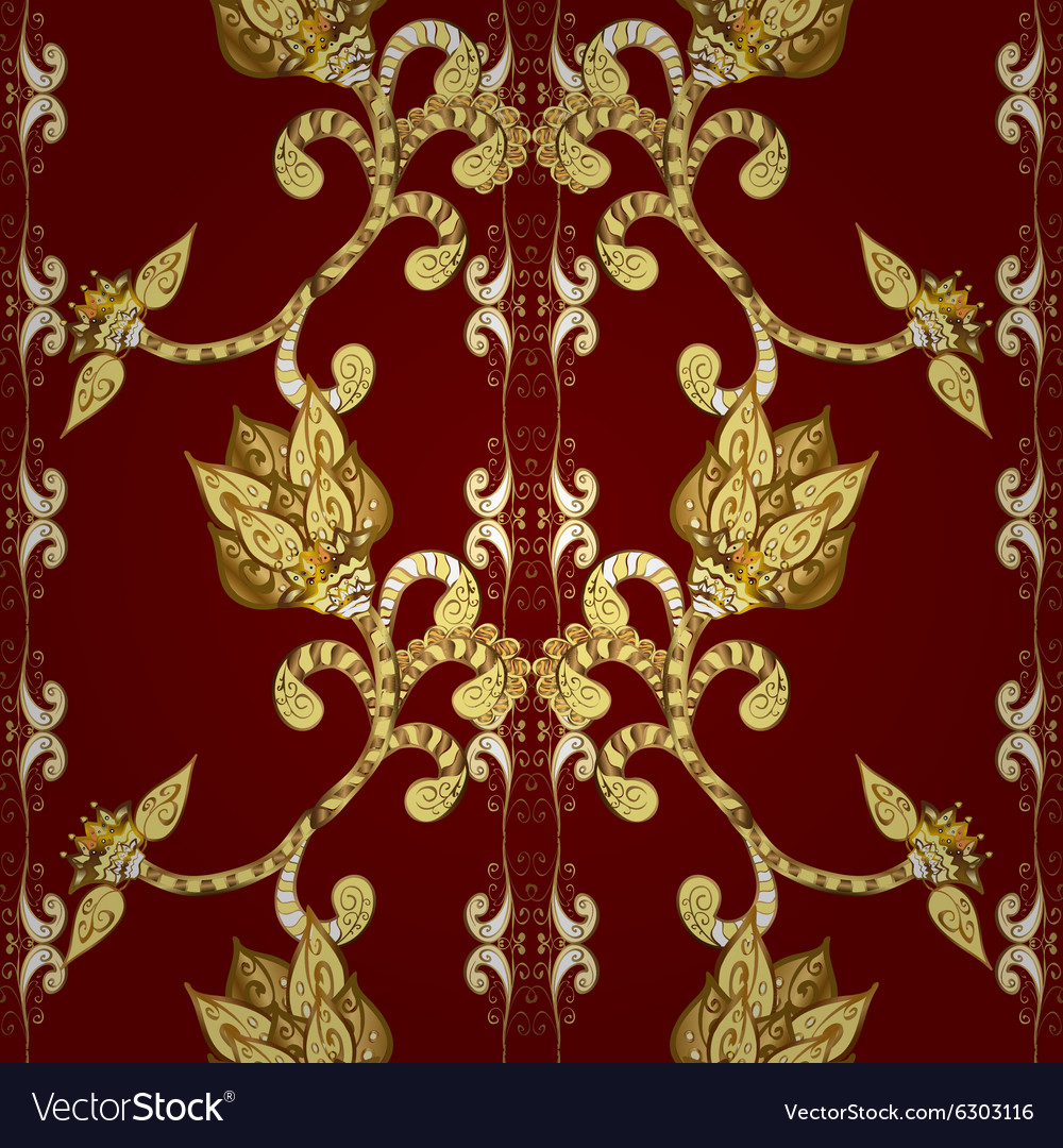 Vintage seamless texture vector image