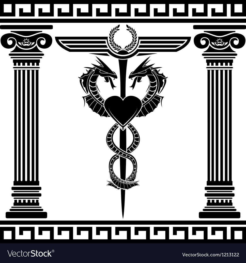 Fantasy medical symbol stencil royalty free vector image fantasy medical symbol stencil vector image buycottarizona Gallery