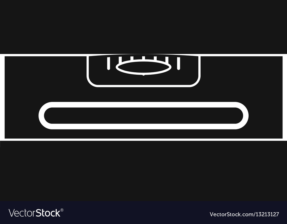 Building level icon simple style vector image