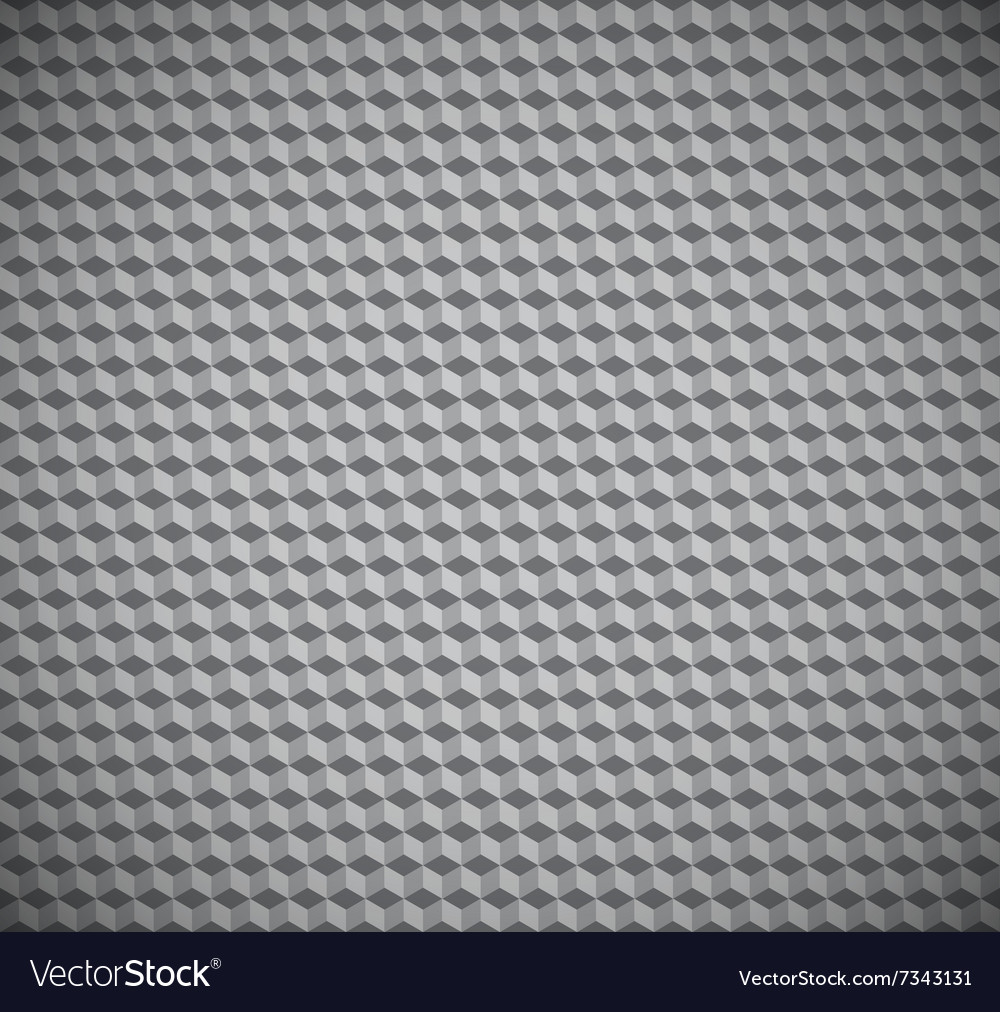 Cubic texture seamless pattern vector image