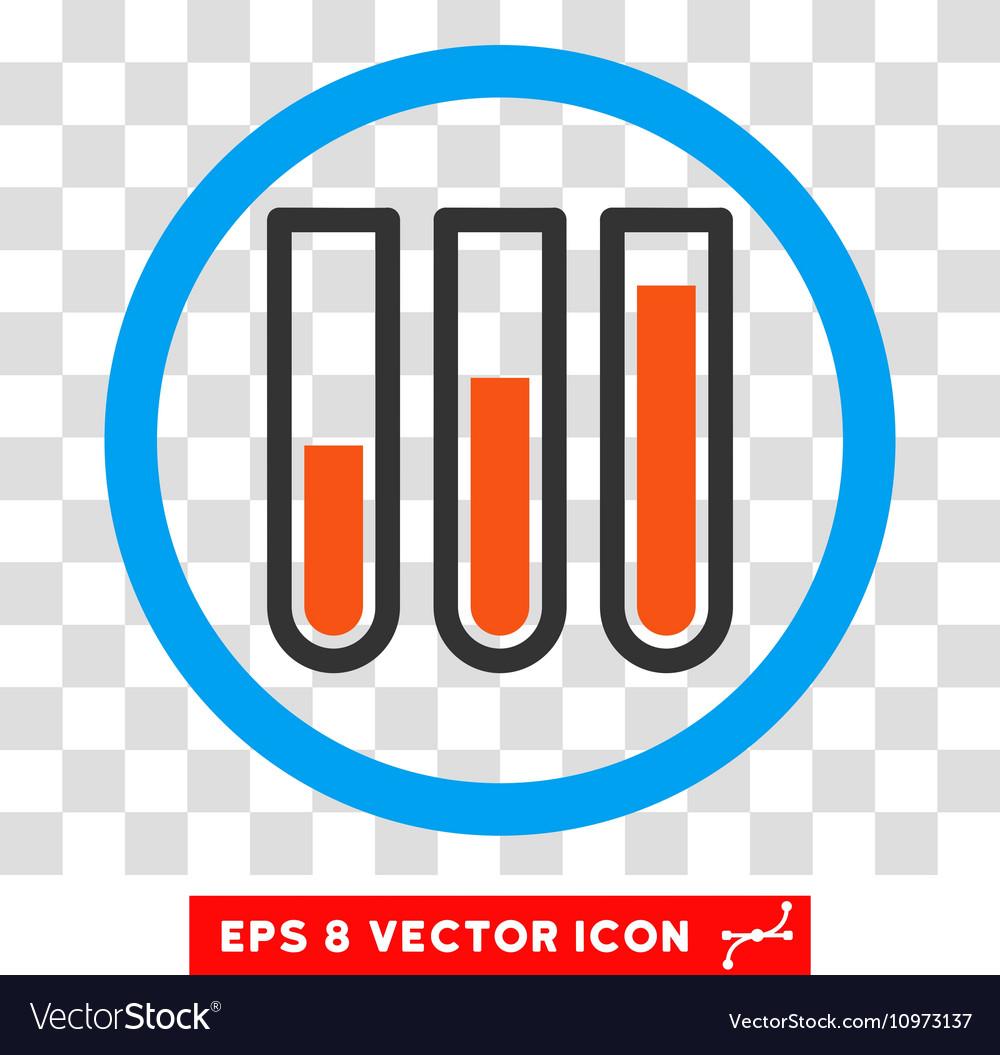 Blood test tubes eps rounded icon royalty free vector image blood test tubes eps rounded icon vector image buycottarizona Images