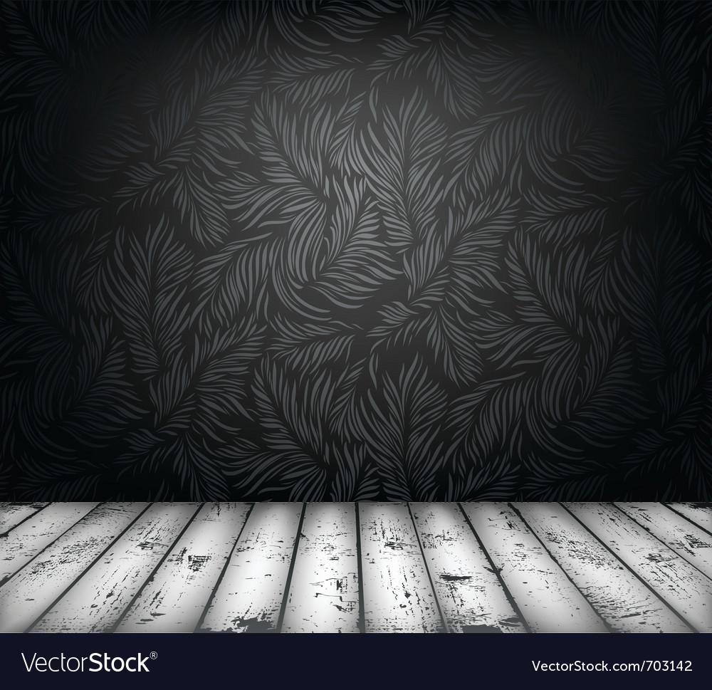 Luxury interior vector image