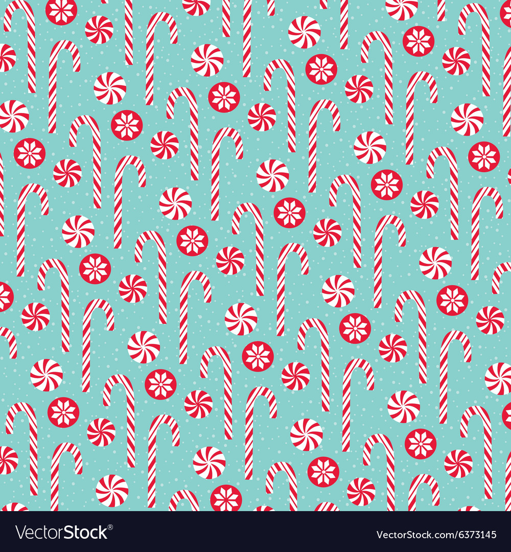 candy cane pattern royalty free vector image vectorstock