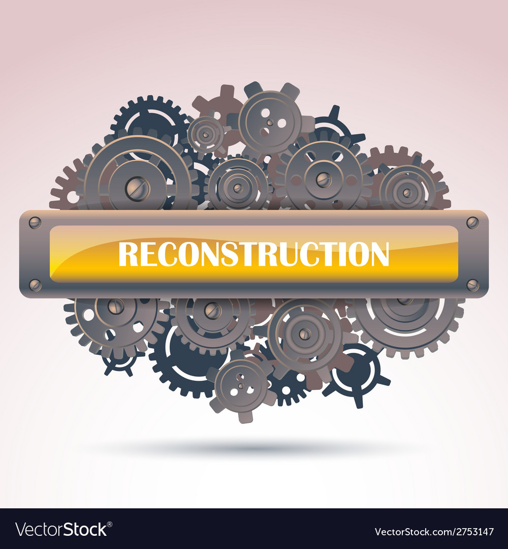 Reconstruction frame vector image