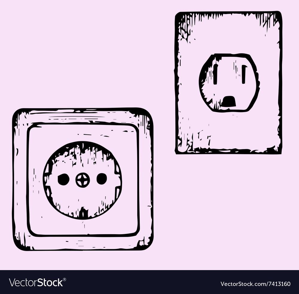 Socket vector image