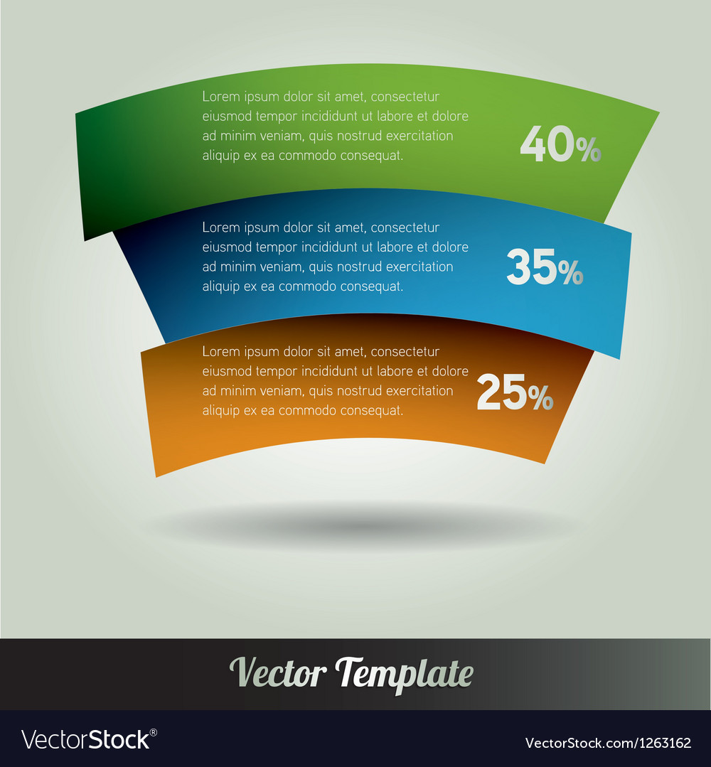 Banner Design template eps10 Vector Image