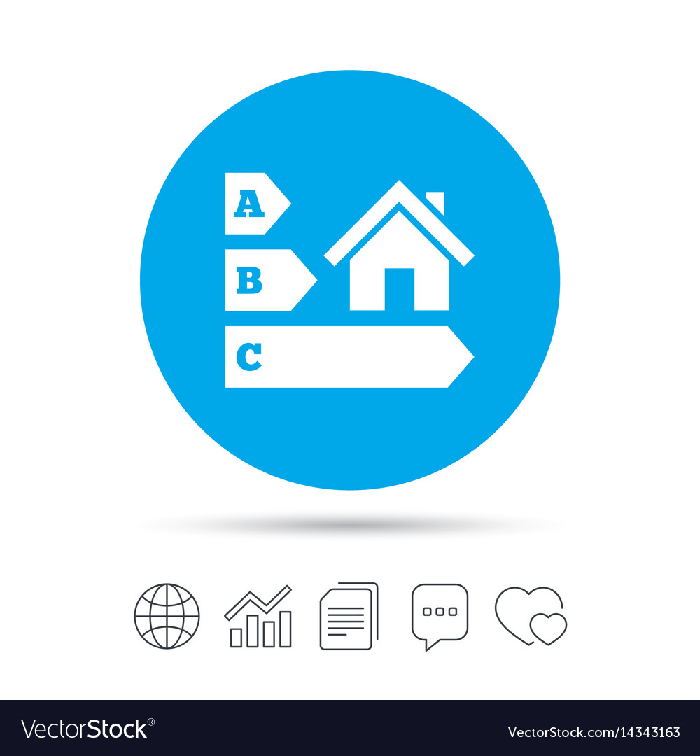 Energy efficiency icon house building symbol vector image energy efficiency icon house building symbol vector image biocorpaavc