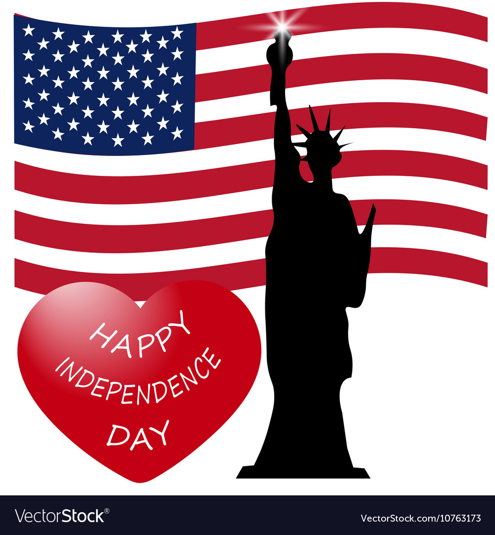 American independence day us symbols royalty free vector american independence day us symbols vector image biocorpaavc Images