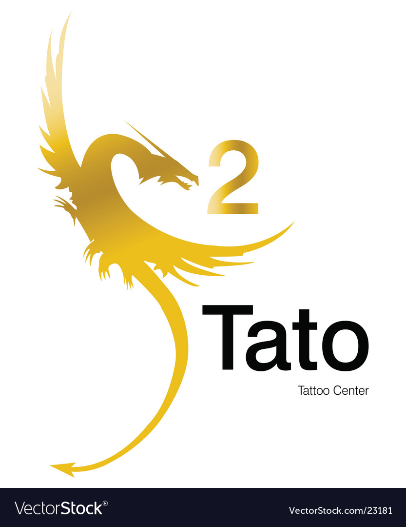 Tattoo 2 logo Vector Image
