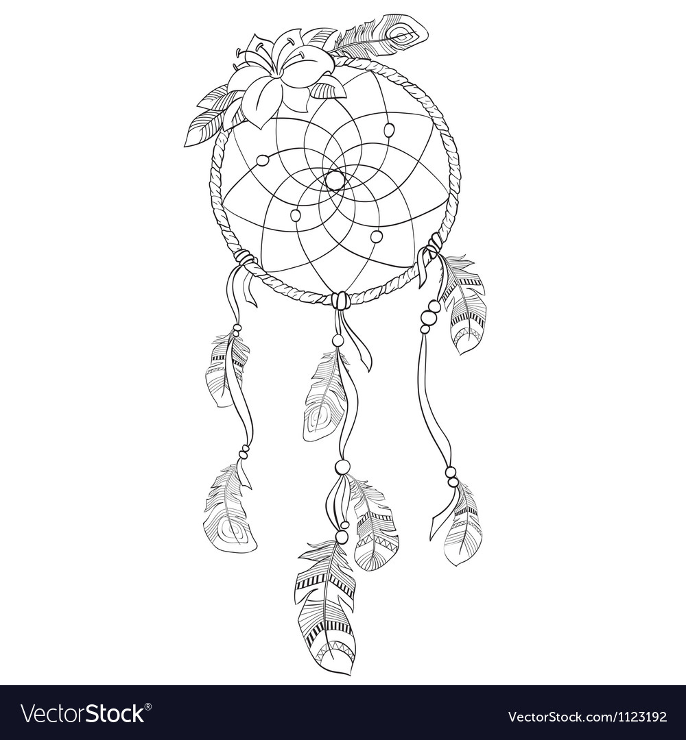 Dreamcatcher vector image