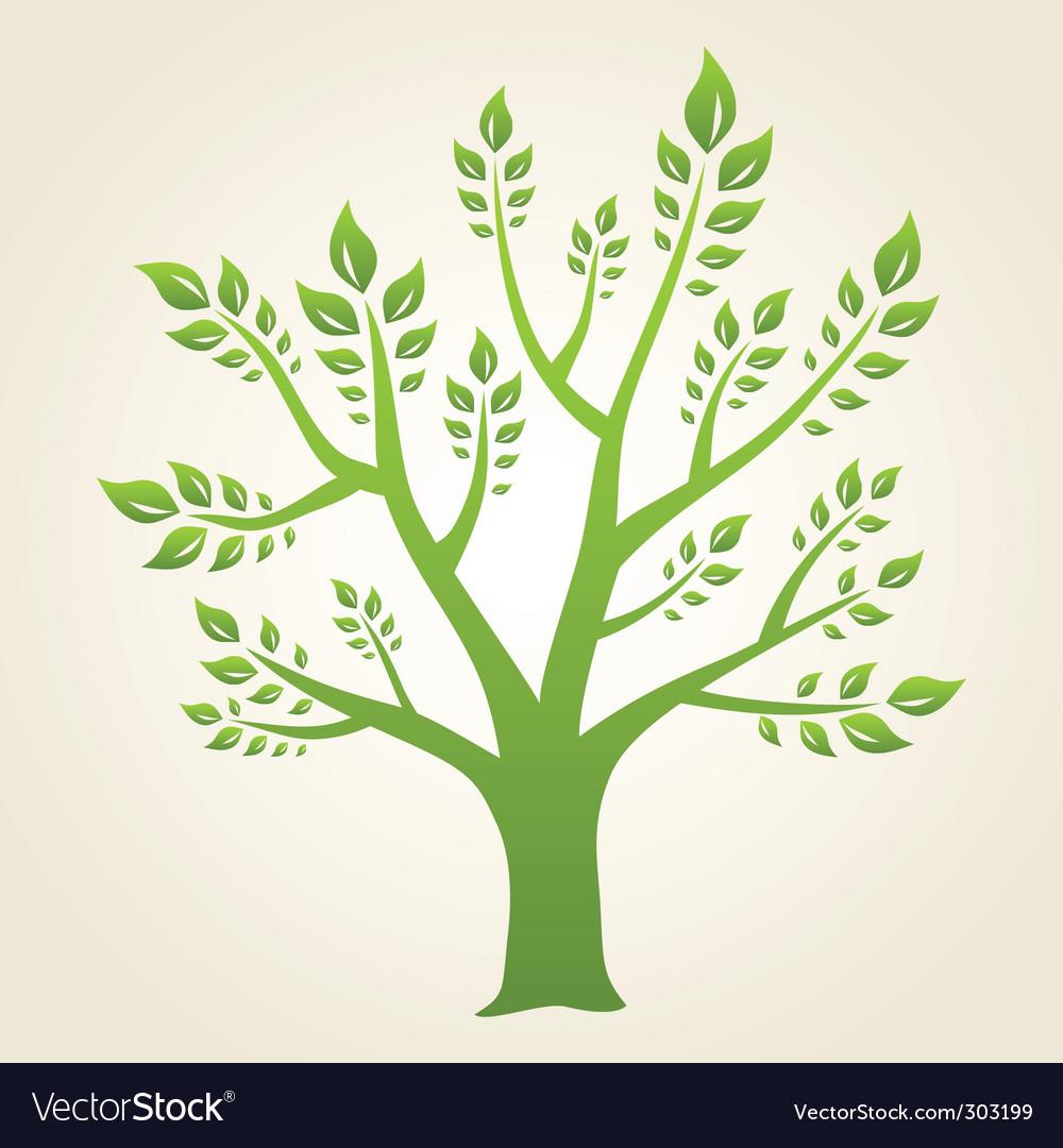 Tree concept vector image