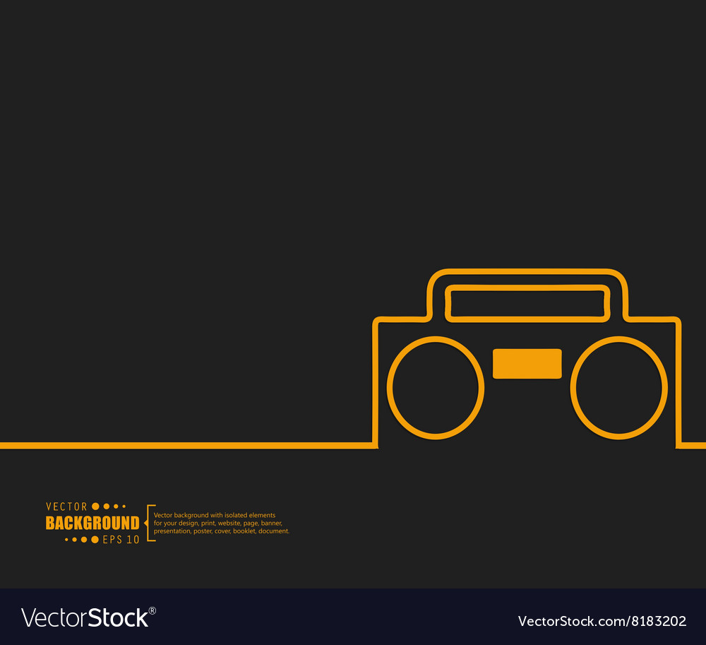 Abstract Creative concept background for vector image
