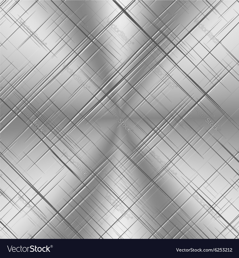Scratched Alluminum Background vector image