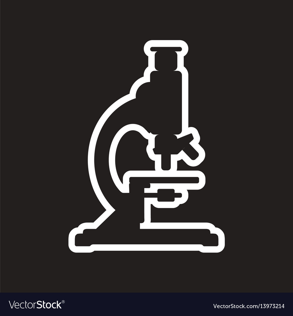 chemistry microscope sign for laboratory