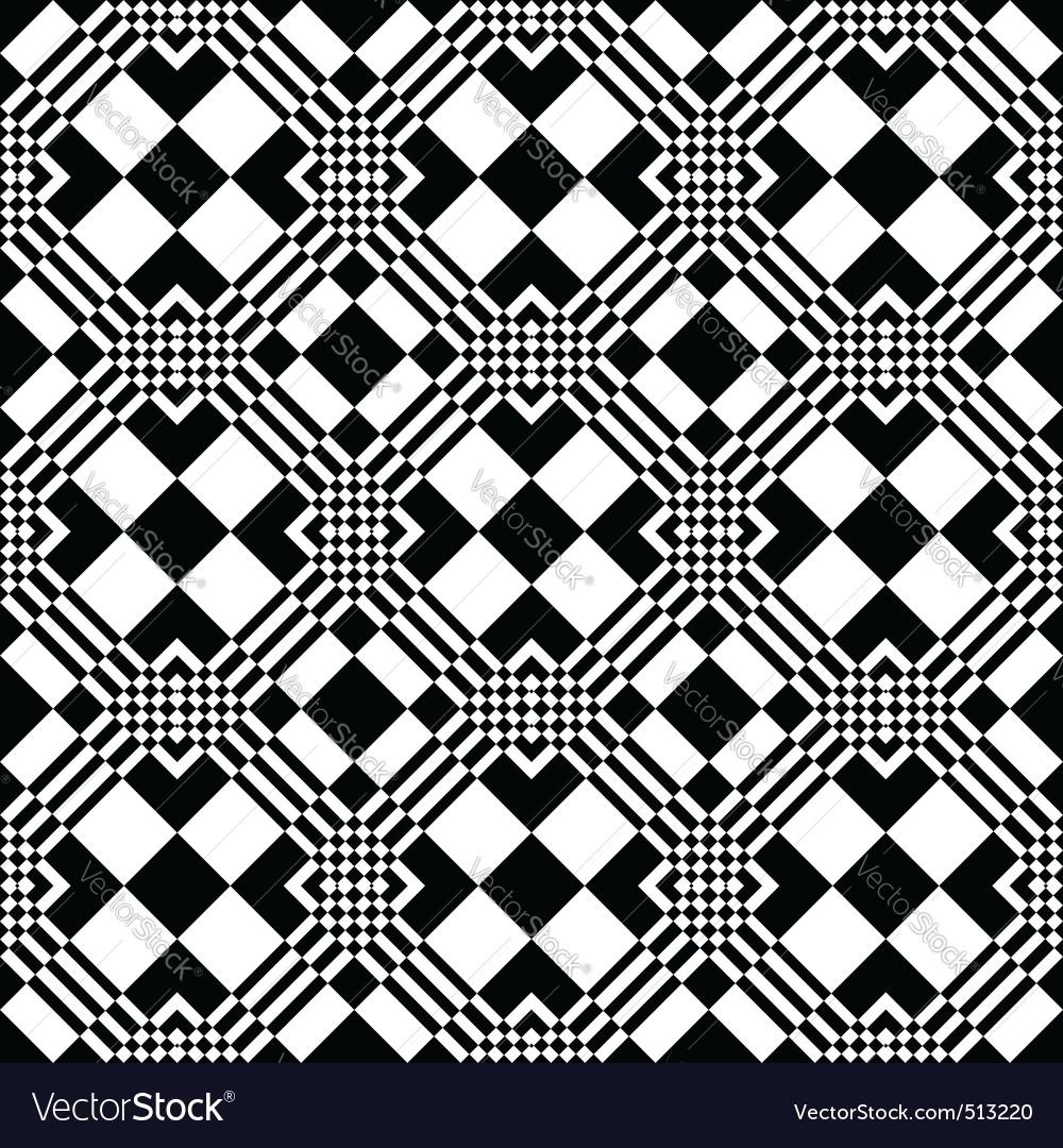 Checkered Design Checkered Pattern Royalty Free Vector Image Vectorstock