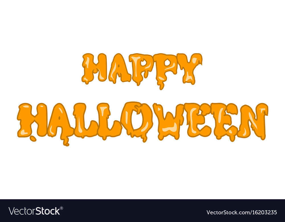 Happy halloween banners inscriptions the festival vector image