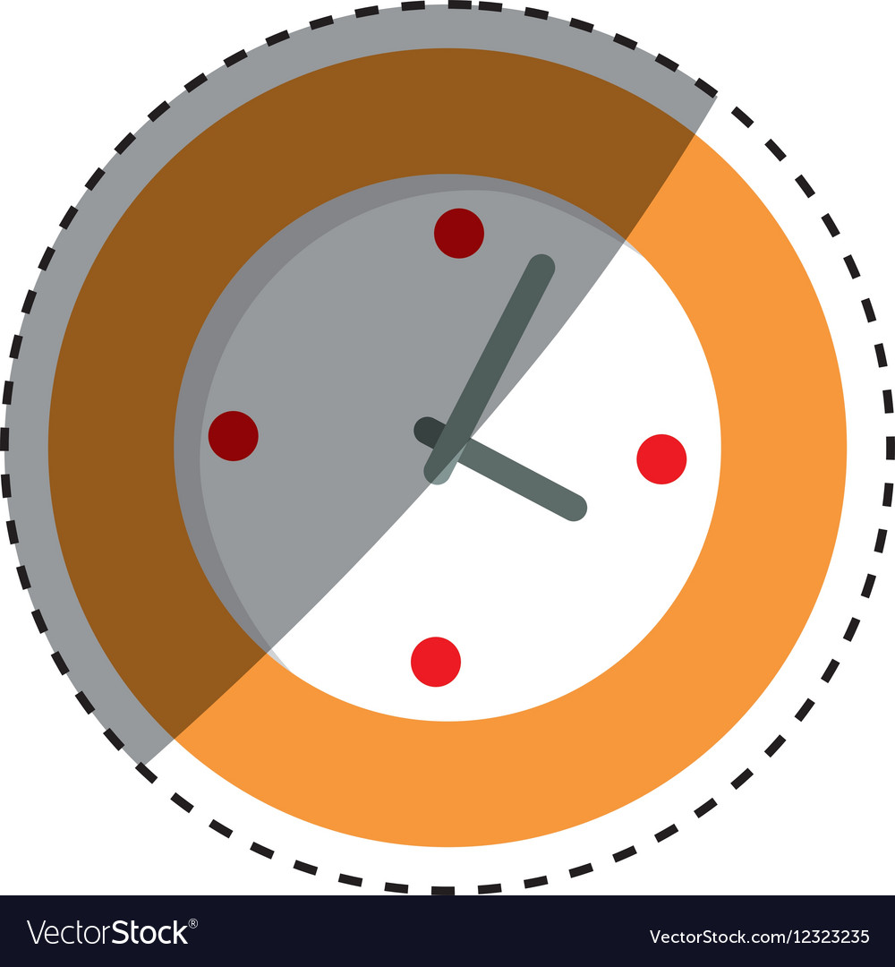 Wall watch clock royalty free vector image vectorstock wall watch clock vector image amipublicfo Choice Image