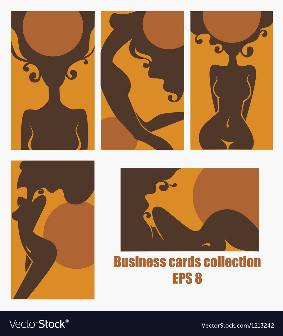 Healthy tan cards for solarium and spa salons vector image