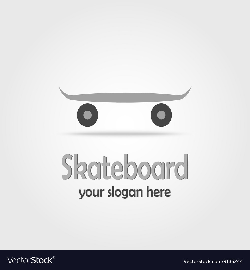 Skateboard Stock vector image