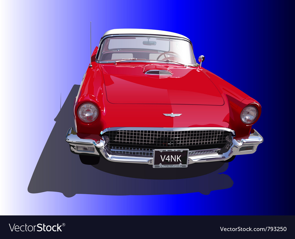 Thunderbird vector image