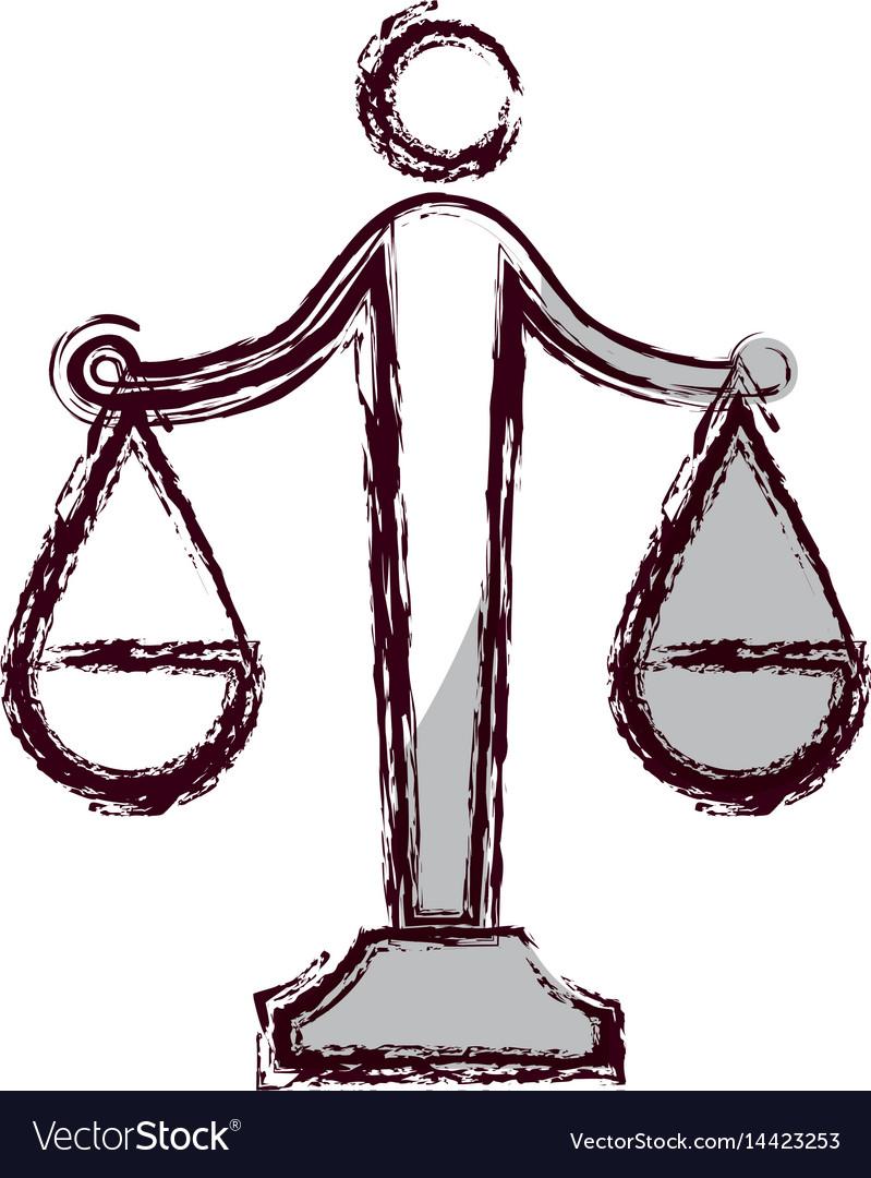 law scale icon royalty free vector image - vectorstock