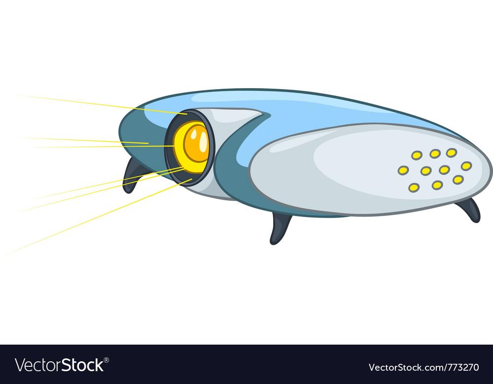 Cartoons projector vector image