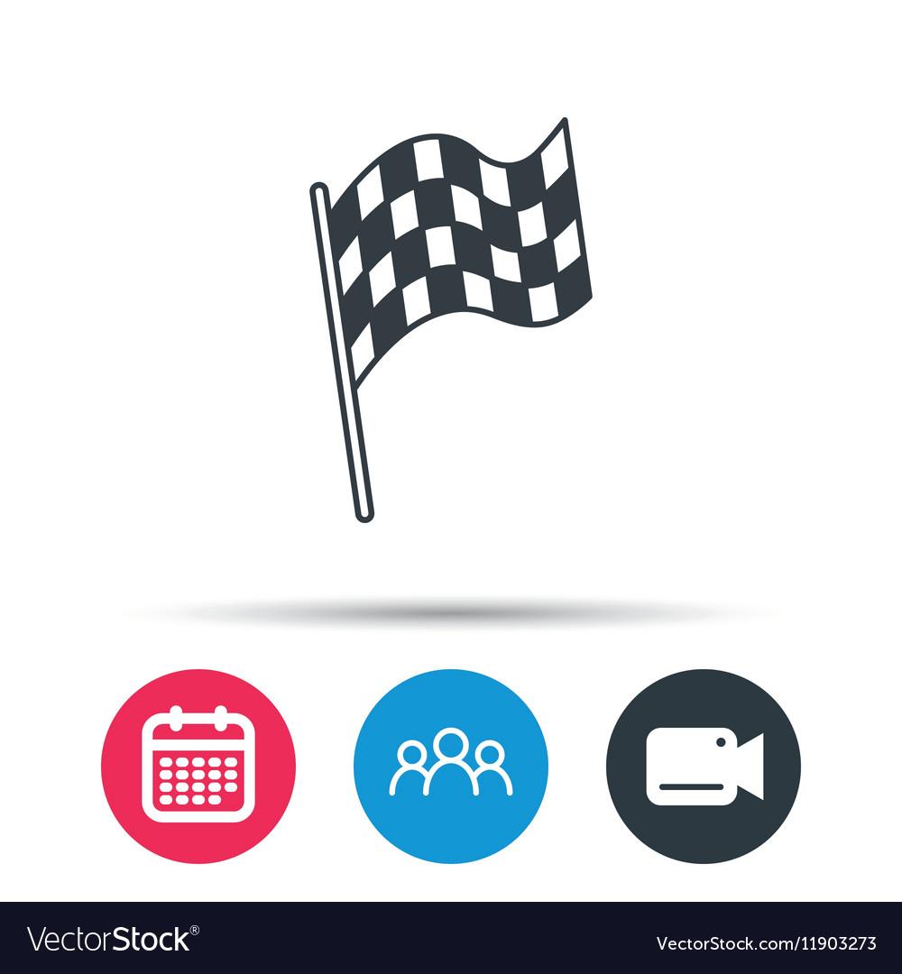 Start Race Vector