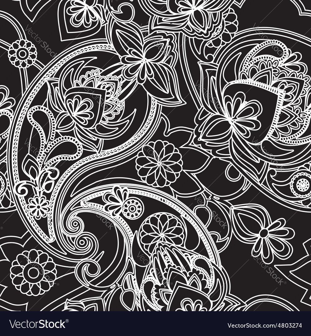 Paisley vector image