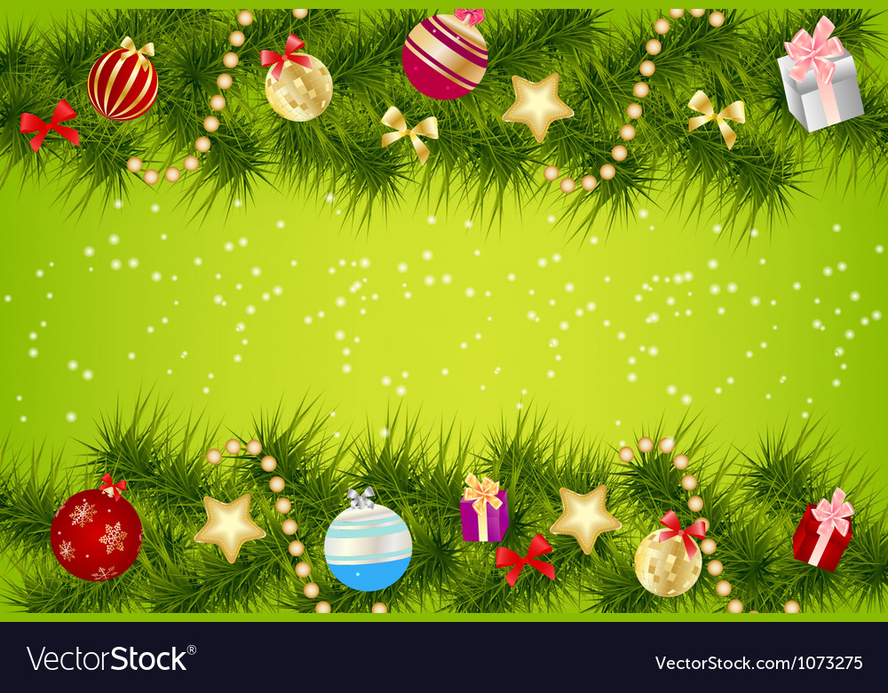 Elegant Christmas banner background Royalty Free Vector