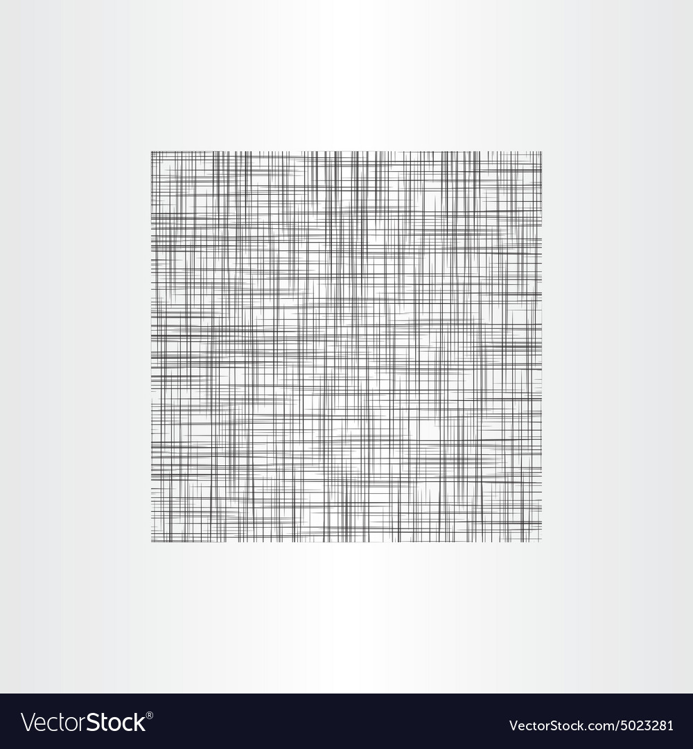 Abstract black net texture vector image