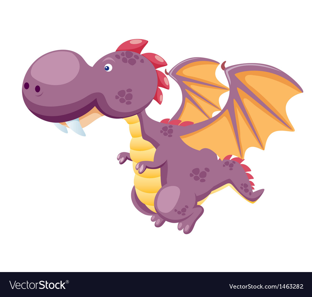 Dragon vector image