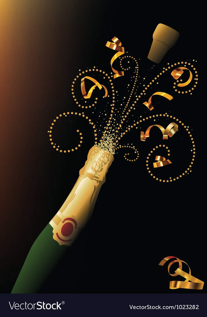 New Years Celebration vector image