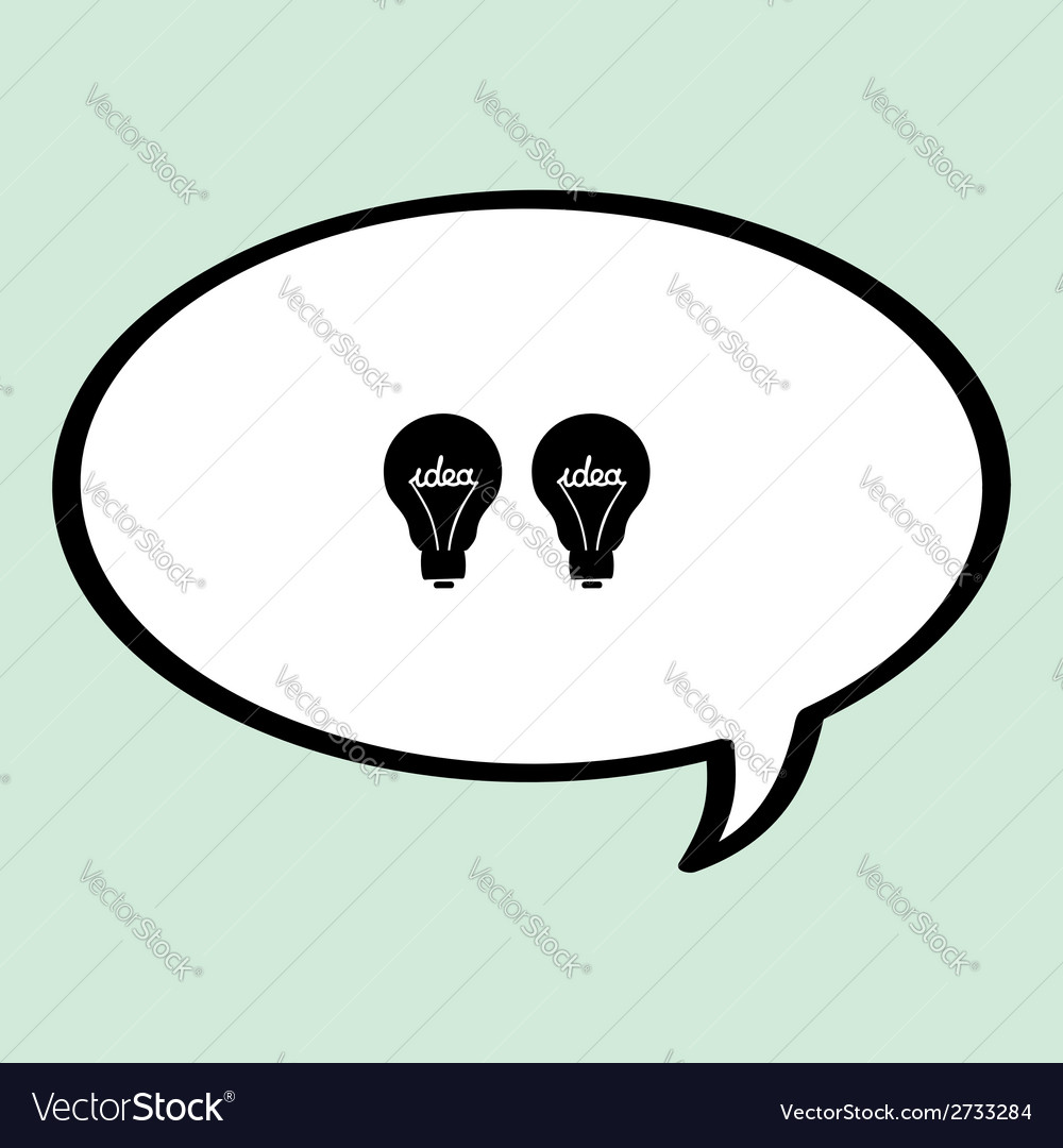 Quote idea vector image